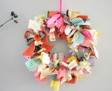 Featured image - How to Make a Fabric Wreath for Year-Round Decorating