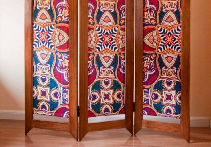 Featured of How to Make a Folding Screen With Fabric