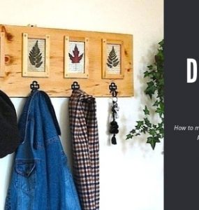Featured of How to Make a Coat Rack for Wall and Picture Gallery in One - DIYCoat Rack