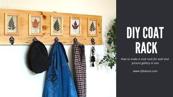 Featured of How to Make a Coat Rack for Wall and Picture Gallery in One - DIY Coat Rack