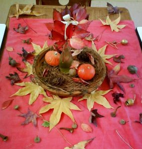 Featured of Nature Tables: Bringing the Seasons Home