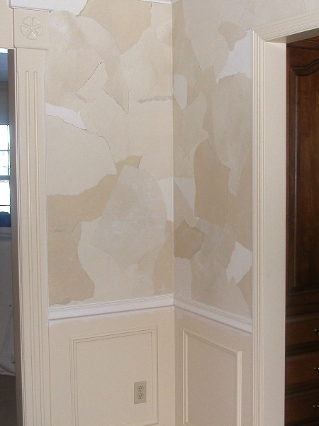 Image - Torn Wallpaper Finish